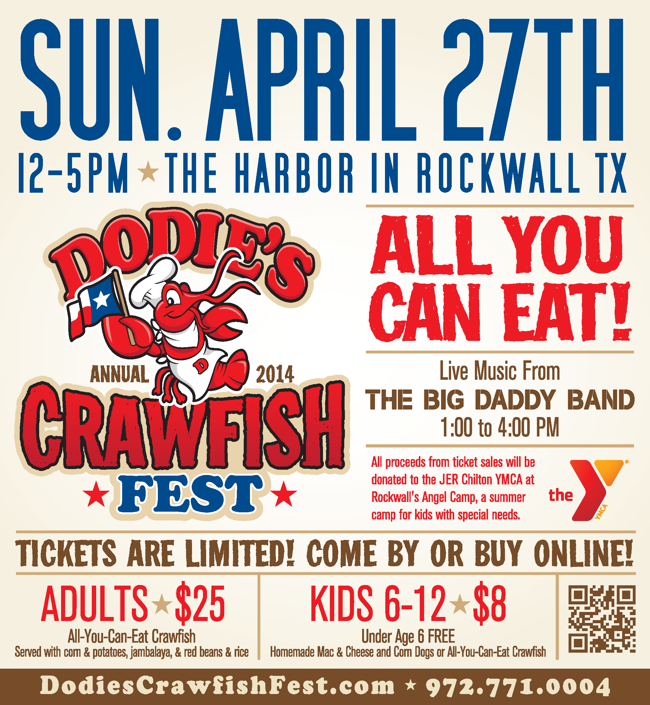 2013 Dodies Annual Crawfish Fest Brn Print Full Page 10_375 X11_25 Crawfish  Fest Dodie's Cajun Diner