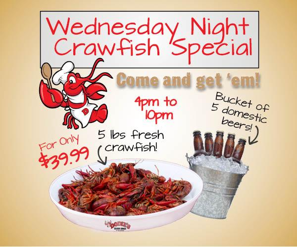 2018 Dodies Wednesday Crawfish Special 600 x 500 Cw1